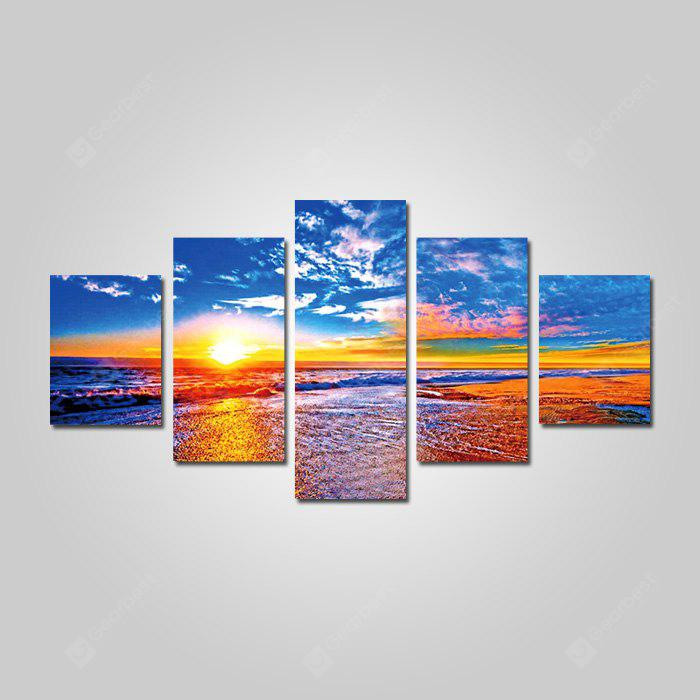 God Painting 1828 Canvas Seascape Estampados decorativos