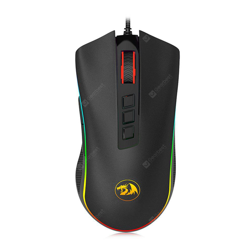 Redragon M711 New RGB Gaming Mouse Permainan - BLACK