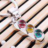 Creative Alloy Traffic Lights Shape Key Chain - SILVER
