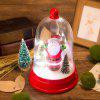 Christmas Santa Claus Style Crystal Ball with Music - COLORMIX