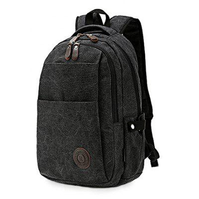 Men Retro Durable Canvas Water-resistant BackpackBackpacks<br>Men Retro Durable Canvas Water-resistant Backpack<br><br>Closure Type: Zip<br>Features: Wearable<br>For: Daily Use, Fishing, Hiking, Outdoor<br>Gender: Men<br>Material: Canvas<br>Package Size(L x W x H): 28.00 x 4.00 x 43.00 cm / 11.02 x 1.57 x 16.93 inches<br>Package weight: 0.6200 kg<br>Packing List: 1 x Backpack<br>Product weight: 0.6000 kg<br>Style: Casual, Fashion<br>Type: Backpacks