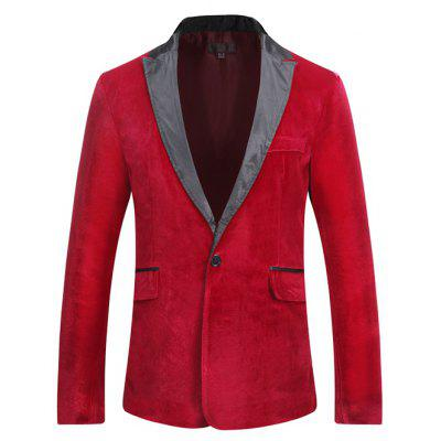 Stylish Velvet Blazer Jacket