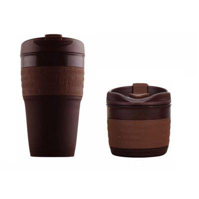 Portable Collapsible Silicone Coffee Cup 1pc