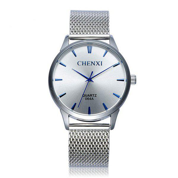 CHENXI 064 Steel Mesh Band Men Quartz Watch