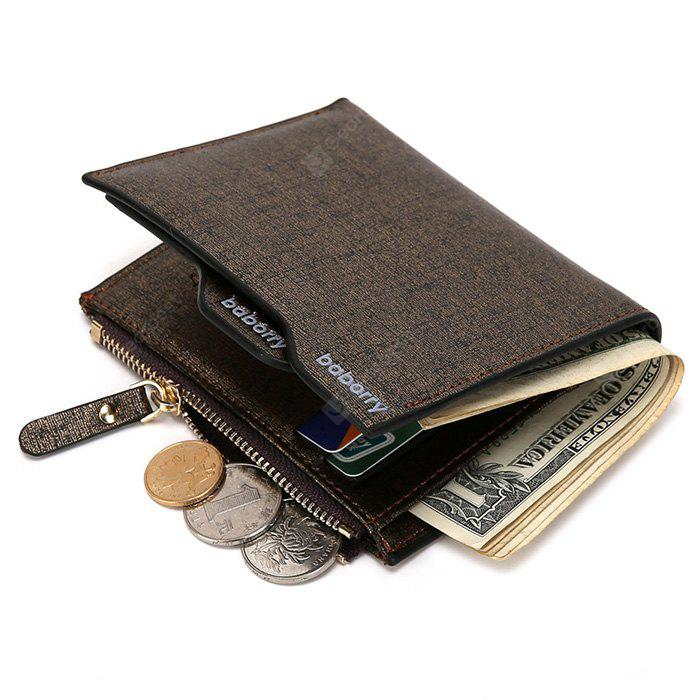 Portefeuille Baborry Homme Business PU Bifold