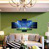 God Painting Modern Prints Stadium Hanging Wall Art 5PCS - COLORMIX