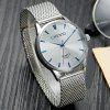 CHENXI 064 Steel Mesh Band Men Quartz Watch - WHITE