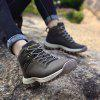Men's Outdoor Soft Hiking Plus-size Athletic Shoes - BROWN