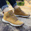 Men's Outdoor Soft Hiking Plus-size Athletic Shoes - CAMEL