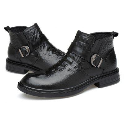 Men's Classic Chelsea Ankle-top Leather Boots
