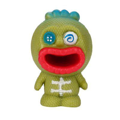 Nowość Tricky Vent Anti-stress Squeeze Spit Tongue Doll Toy