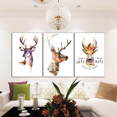 God Painting Nordic Deer Print Frameless Canvas Decor 3PCSPrints<br>God Painting Nordic Deer Print Frameless Canvas Decor 3PCS<br><br>Brand: God Painting<br>Craft: Print<br>Form: Three Panels<br>Material: Canvas<br>Package Contents: 3 x Print<br>Package size (L x W x H): 53.00 x 6.00 x 6.00 cm / 20.87 x 2.36 x 2.36 inches<br>Package weight: 0.3500 kg<br>Painting: Without Inner Frame<br>Product weight: 0.3000 kg<br>Shape: Vertical<br>Style: Simple, Modern, Animal, Beautiful<br>Subjects: Animal<br>Suitable Space: Bedroom,Cafes,Dining Room,Hallway,Hotel,Kids Room,Living Room,Study Room / Office