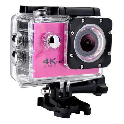 Buy F60B 16MP 4K FHD 1080P 2.0 LCD WIFI Waterproof 30M Action Sports Camera RED for $29.08 in GearBest store
