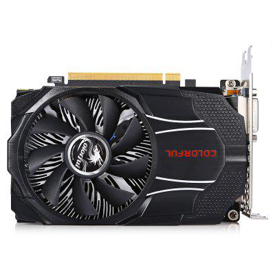 Colorful GTX1060 Mini OC 6G New Gaming Graphics Card computador cooling fan replacement for msi twin frozr ii r7770 hd 7770 n460 n560 gtx graphics video card fans pld08010s12hh