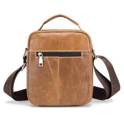 BULLCAPTAIN Men Stylish Genuine Leather Shoulder BagCrossbody Bags<br>BULLCAPTAIN Men Stylish Genuine Leather Shoulder Bag<br><br>Brand: BULLCAPTAIN<br>Closure Type: Zip<br>Features: Wearable<br>For: Daily Use, Outdoor, Shopping<br>Gender: Men<br>Material: Leather<br>Package Size(L x W x H): 24.00 x 4.00 x 20.00 cm / 9.45 x 1.57 x 7.87 inches<br>Package weight: 0.4200 kg<br>Packing List: 1 x Shoulder Bag<br>Product weight: 0.4000 kg<br>Style: Casual, Fashion<br>Type: Shoulder bag