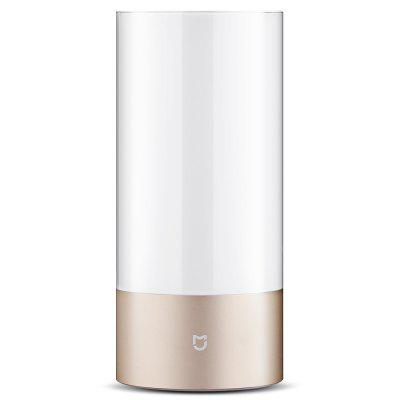 Xiaomi Mijia Bedside Lamp Bluetooth Control WiFi ConnectionSmart Lighting<br>Xiaomi Mijia Bedside Lamp Bluetooth Control WiFi Connection<br><br>Available Light Color: RGBW<br>Brand: Xiaomi<br>Color Temperature or Wavelength: 1700 - 6500K<br>Features: WiFi, Bluetooth<br>Function: Home Lighting<br>Luminous Flux: 300lm<br>Output Power: 10W<br>Package Contents: 1 x Xiaomi Yeelight Bedside Night Light, 1 x Power Adapter, 1 x Chinese User Manual<br>Package size (L x W x H): 15.00 x 15.00 x 25.00 cm / 5.91 x 5.91 x 9.84 inches<br>Package weight: 1.3400 kg<br>Product size (L x W x H): 10.00 x 10.00 x 22.10 cm / 3.94 x 3.94 x 8.7 inches<br>Product weight: 1.2980 kg<br>Sheathing Material: ABS<br>Voltage (V): AC 100-240V
