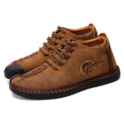 Men Versatile Soft Warmest Casual Leather Shoes