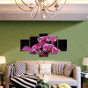 God Painting 1890 Orchid Flower Canvas Print 5PCS - COLORMIX