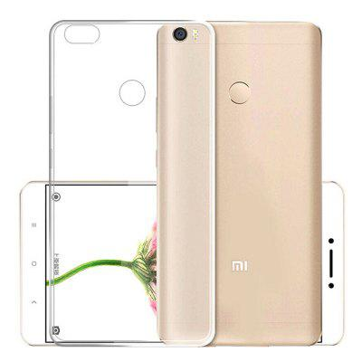 Slim Soft TPU Transparent Cover Case para Xiaomi Max 2