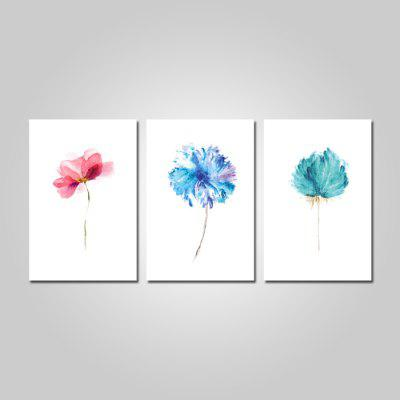 God Painting Canvas Prints Fiori Wall Art 3PCS