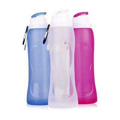 Travel Portable Retractable Silicone Drinking Cup 1pc
