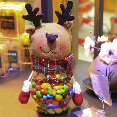 Candy Jar na may Elk Style para sa Kids sa Pasko