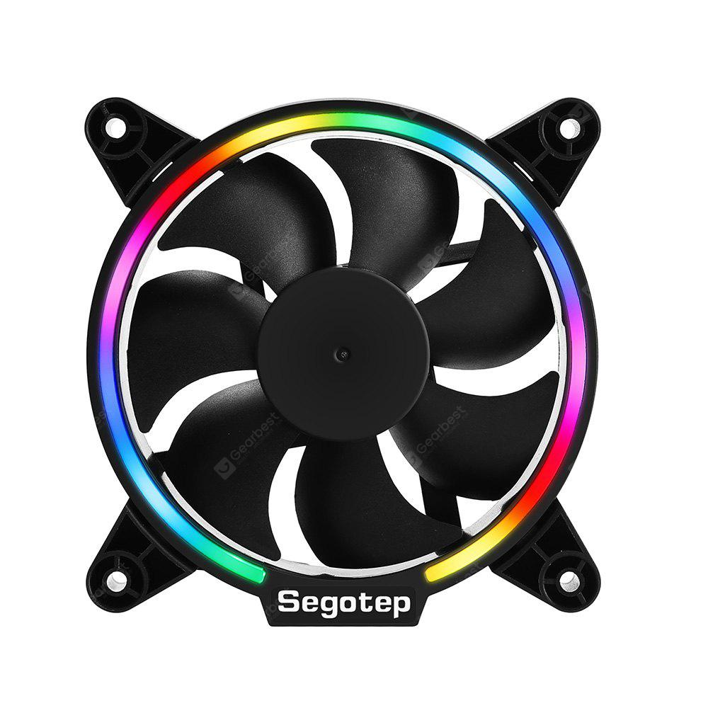 Segotep Lightning 12 Cpu Cooler Cooling Fan With Rgb Light