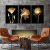 God Painting Hanging Prints Flowers Wall Art 3PCS - COLORI MISTI
