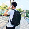 CTSmart USB Charging Waterproof Anti-slip Backpack - BLACK