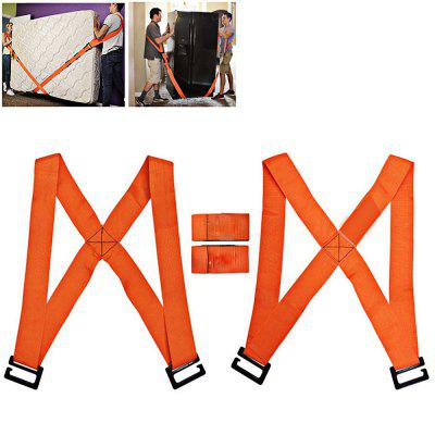Easy Carry Furniture Lifting Moving Belt Shoulder Straps 2pcs