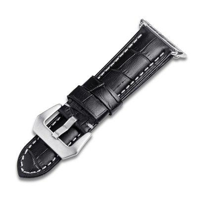ROPS F06 Genuine Leather Watch Band for iWatchWatch Accessories<br>ROPS F06 Genuine Leather Watch Band for iWatch<br><br>Available brand: iWatch<br>Brand: ROPS<br>Material: Genuine Leather<br>Package Contents: 1 x Watch Band, 1 x Free Installation Tool<br>Package size (L x W x H): 23.00 x 5.00 x 2.10 cm / 9.06 x 1.97 x 0.83 inches<br>Package weight: 0.0960 kg<br>Product size (L x W x H): 22.00 x 3.40 x 1.30 cm / 8.66 x 1.34 x 0.51 inches<br>Product weight: 0.0200 kg<br>Type: Smart watch / wristband band