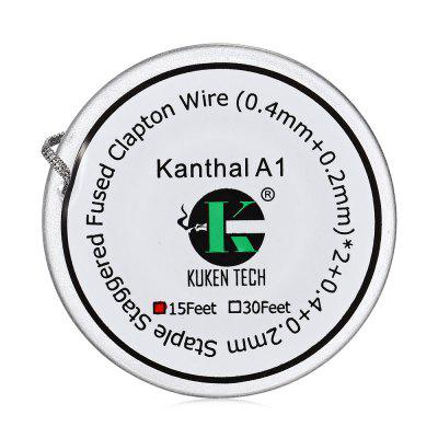 Kuken Tech Staple cu șuruburi Fused Clapton Wire