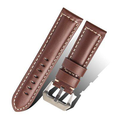 ROPS F02 - 22 Stylish Genuine Leather Watch Band