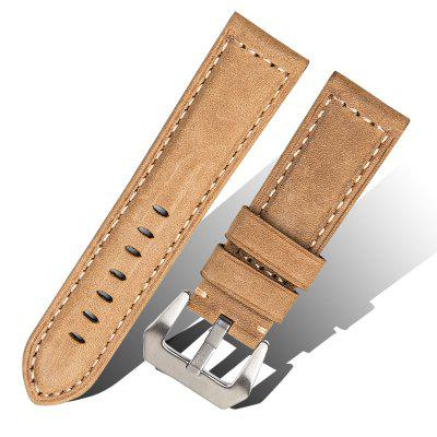 ROPS F03 - 24 Retro Genuine Leather Watch Band