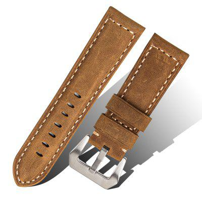 ROPS F03 - 24 Trendy Genuine Leather Watch Band