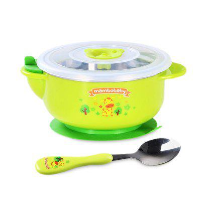 Baby Infant Bowl with Suction Cup Free Spoon