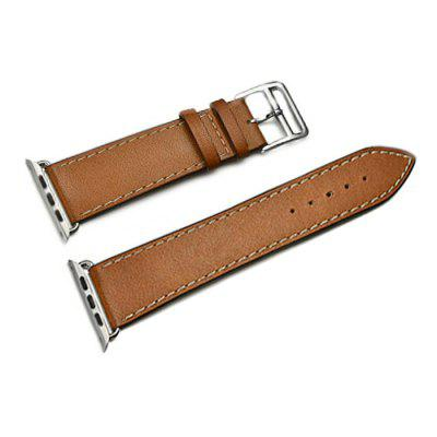 Genuine Leather Watch Band with Pin Buckle for iWatch