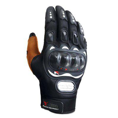 Pair of Warm-keeping Unisex Full-finger Windproof Gloves