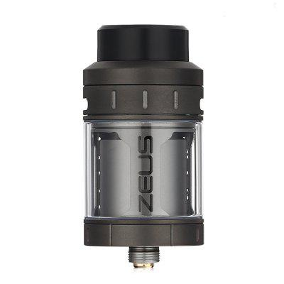 Original Geekvape Zeus RTARebuildable Atomizers<br>Original Geekvape Zeus RTA<br><br>Brand: Geekvape<br>Material: Stainless Steel, Glass<br>Model: Zeus<br>Package Contents: 1 x Zeus RTA, 1 x Allen Key, 1 x Spare Glass Tube, 1 x 510 Drip Tip, 1 x 810 Drip Tip, 2 x Wire, 13 x Silicone Ring, 4 x Screw<br>Package size (L x W x H): 8.00 x 9.50 x 3.60 cm / 3.15 x 3.74 x 1.42 inches<br>Package weight: 0.1640 kg<br>Product size (L x W x H): 2.50 x 2.50 x 4.80 cm / 0.98 x 0.98 x 1.89 inches<br>Product weight: 0.0600 kg<br>Rebuildable Atomizer: RTA<br>Type: Rebuildable Atomizer