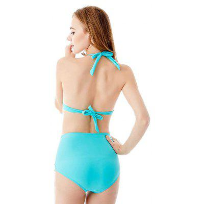 I - Glam Sexy Two-piece Hollow High Waist SwimsuitWomens Swimwear<br>I - Glam Sexy Two-piece Hollow High Waist Swimsuit<br><br>Brand: I_Glam<br>Material: Nylon, Spandex<br>Neckline: Spaghetti Straps<br>Package Contents: 1 x Bikini<br>Package size: 32.00 x 22.00 x 2.00 cm / 12.6 x 8.66 x 0.79 inches<br>Package weight: 0.2000 kg<br>Product weight: 0.1800 kg<br>Swimwear Type: Bikini<br>Waist: High Waisted