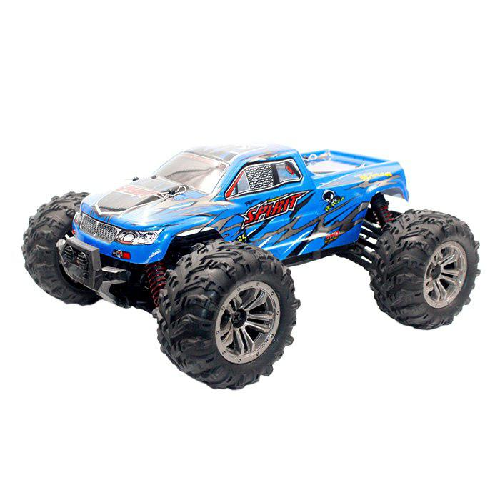 9130 1 16 4 XNUMXWD Escovado Off-Road RC Car - RTR - AZUL