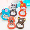 MCYH Magnetic Portable Cartoon Style Bottle Opener 1pc - COLORMIX