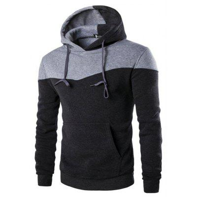 Simple Splicing Hoodie