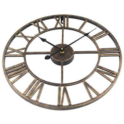 Reloj de pared Timelike T8140 Iron Retro Round Roman Digital