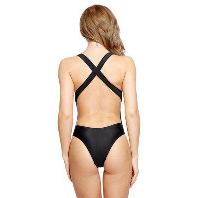 I - Glam Women Simple Sexy One-piece SwimsuitWomens Swimwear<br>I - Glam Women Simple Sexy One-piece Swimsuit<br><br>Brand: I_Glam<br>Material: Nylon, Spandex<br>Neckline: Spaghetti Straps<br>Package Contents: 1 x Jumpsuit<br>Package size: 32.00 x 22.00 x 2.00 cm / 12.6 x 8.66 x 0.79 inches<br>Package weight: 0.1500 kg<br>Product weight: 0.1200 kg<br>Swimwear Type: One Piece