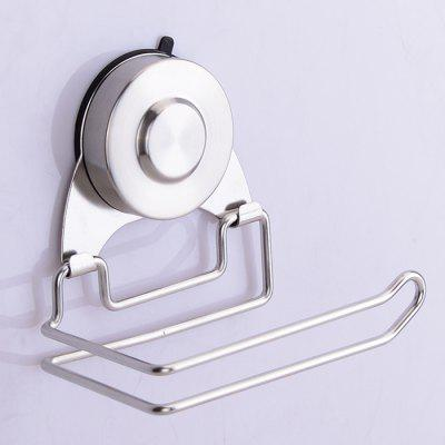 Multifunctional Paper Holder Suction Cup Towel Rack