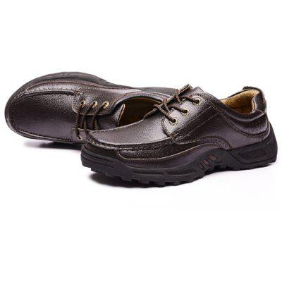 Men\s Business Soft Thick-soled Casual Dress Leather ShoesFormal Shoes<br>Men\s Business Soft Thick-soled Casual Dress Leather Shoes<br><br>Closure Type: Lace-Up<br>Contents: 1 x Pair of Shoes, 1 x Box, 1 x Dustproof Paper<br>Function: Slip Resistant<br>Lining Material: Pigskin<br>Materials: Pigskin, Rubber, Leather<br>Occasion: Tea Party, Shopping, Office, Holiday, Casual, Party, Daily, Dress, Formal<br>Outsole Material: Rubber<br>Package Size ( L x W x H ): 33.00 x 24.00 x 13.00 cm / 12.99 x 9.45 x 5.12 inches<br>Package weight: 1.0000 kg<br>Pattern Type: Solid<br>Product weight: 0.8000 kg<br>Seasons: Autumn,Spring<br>Style: Modern, Business, Casual, Comfortable, Fashion, Formal, Leisure<br>Toe Shape: Round Toe<br>Type: Casual Leather Shoes<br>Upper Material: Leather