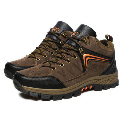 Men's Classic Outdoor Hiking Padded Collar Athletic Shoes