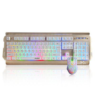 Ajazz Wired Gaming Mouse Keyboard Set coupons