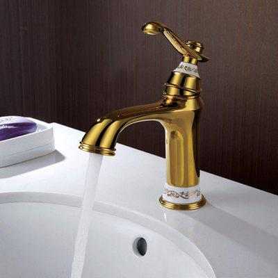 MLFALLS M2147G Short Centerset Bathroom Sink Faucet